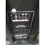 Тонколона с вграден акумулатор, МП3 плейър от SD карта или флашка и безжичен микрофон за караоке MBA Q8B
